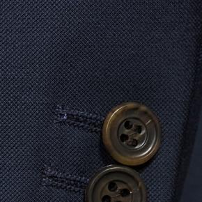 Navy Blue Pick & Pick Suit - thumbnail image 2