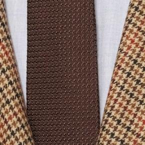 Light Brown Check Wool & Cashmere Suit - thumbnail image 2