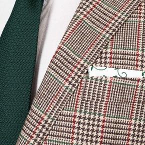 Light Brown Plaid Wool & Cashmere Suit - thumbnail image 2