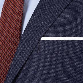 Denim Blue Birdseye Natural Stretch Suit - thumbnail image 2