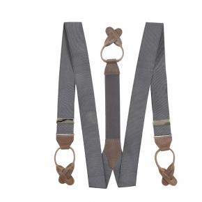 Dark Grey Suspenders - thumbnail image 1