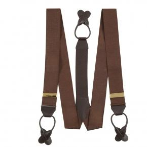 Coffee Brown Suspenders - thumbnail image 1