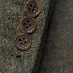 Pastel Green Wool & Cashmere Blazer - thumbnail image 2