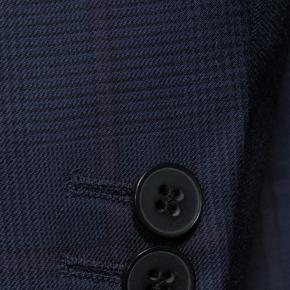 Vendetta Premium Lavender Check Navy Plaid Suit - thumbnail image 1