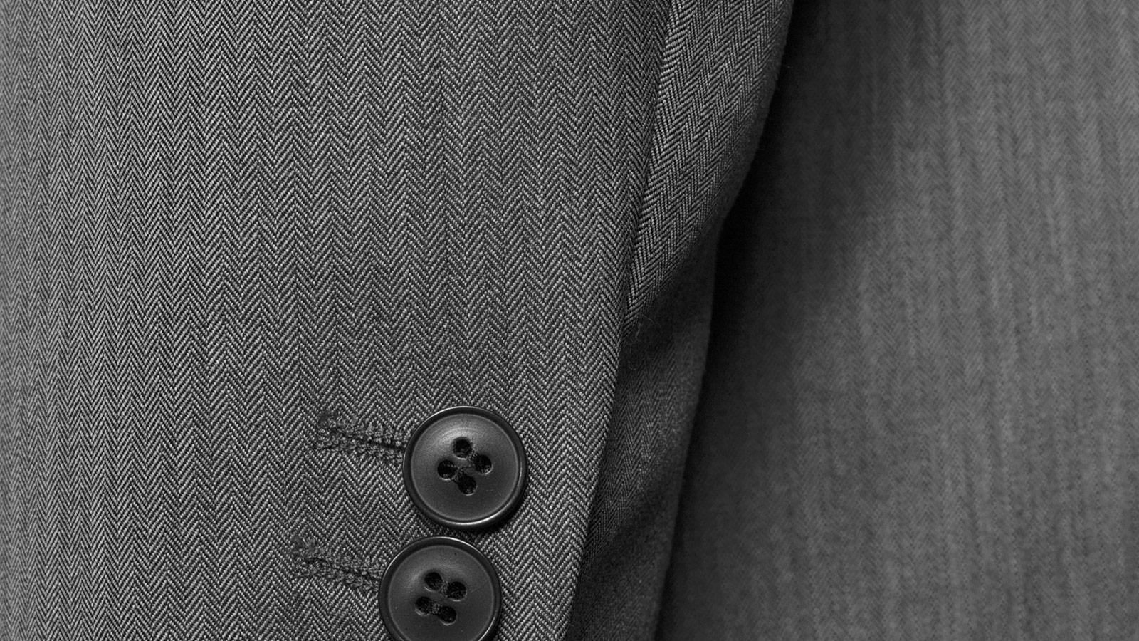 Vendetta Premium Grey Herringbone Suit - slider image 1