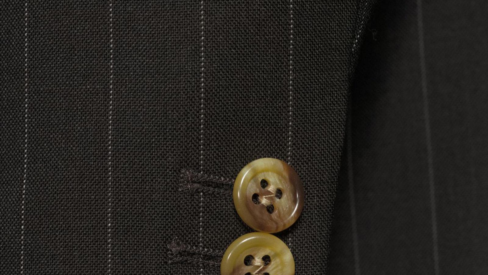 Vendetta Premium Brown Pinstripe Suit - slider image 1