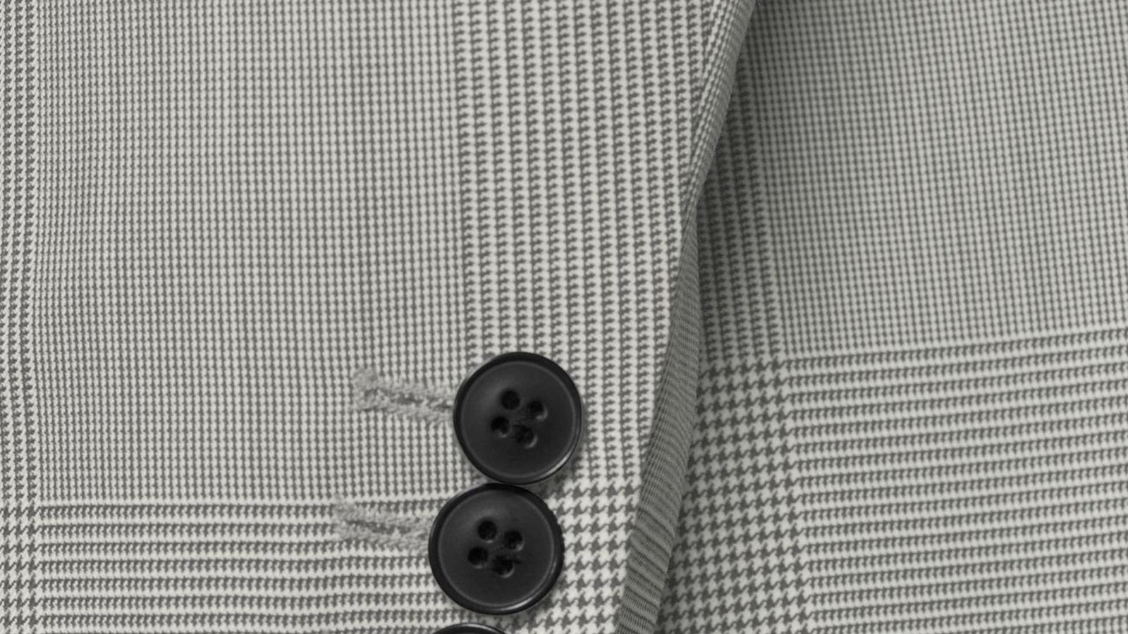 Vendetta Premium Grey Prince of Wales Check Suit - slider image 1