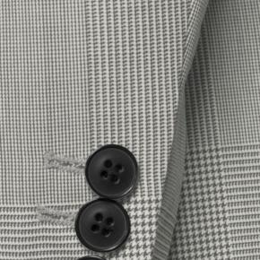 Vendetta Premium Grey Prince of Wales Check Suit - thumbnail image 1
