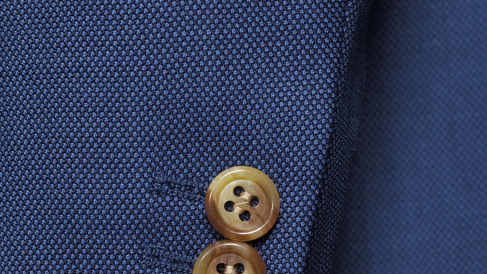 Vendetta Premium Intense Blue Birdseye Suit - slider image 1