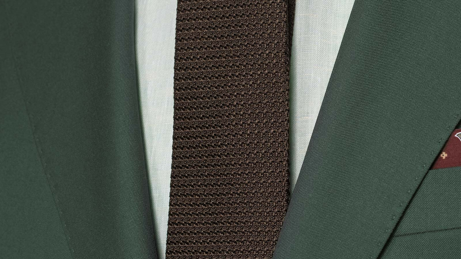 Vendetta Premium Solid Dark Green Suit - slider image 1