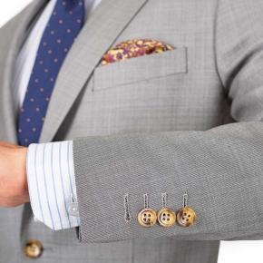 Light Grey Pick & Pick Suit - thumbnail image 2