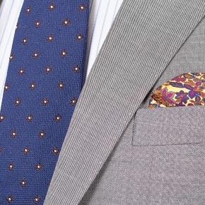 Light Grey Pick & Pick Suit - thumbnail image 3