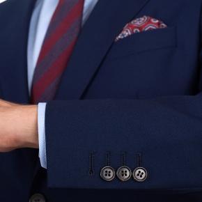 11 oz Navy Twill Suit - thumbnail image 3