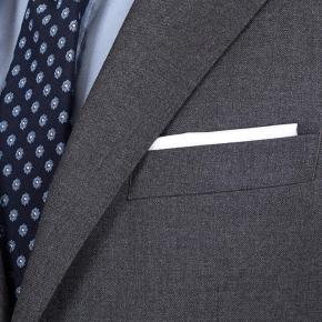 11 oz Grey Twill Suit - thumbnail image 3