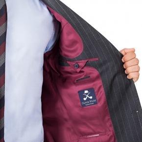 Charcoal Chalkstripe Suit - thumbnail image 1