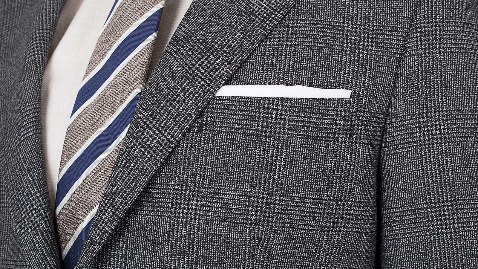 Charcoal Plaid Suit - slider image 1
