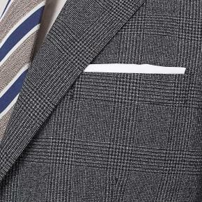 Charcoal Plaid Suit - thumbnail image 1
