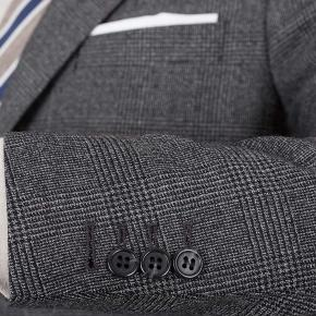 Charcoal Plaid Suit - thumbnail image 2