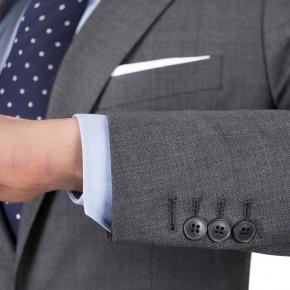 Vendetta Premium Dark Grey Pick & Pick Suit - thumbnail image 1