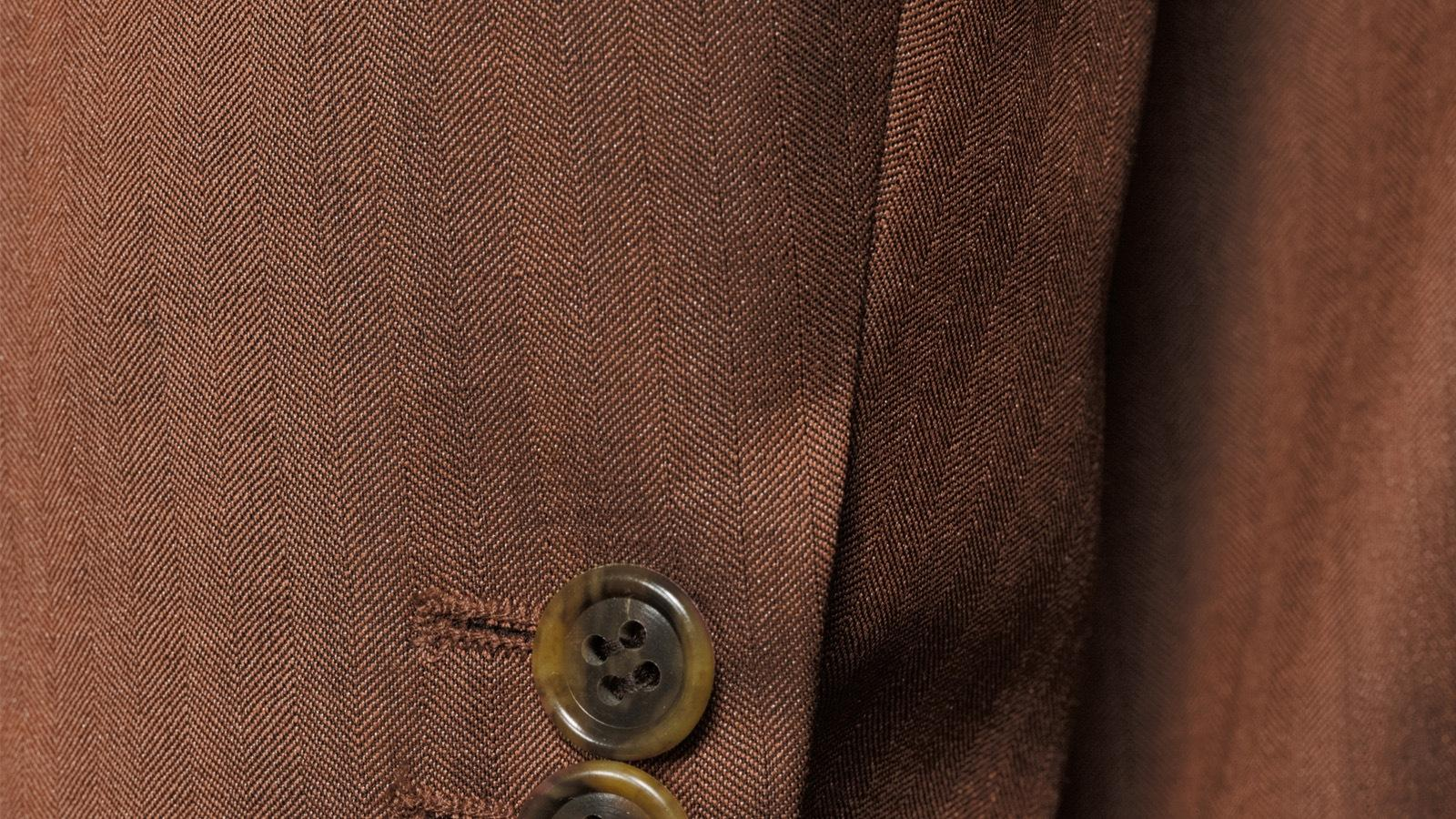 Copper Wool & Silk Suit - slider image 1
