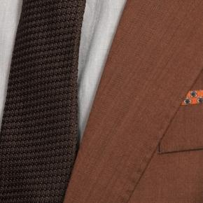 Copper Wool & Silk Suit - thumbnail image 2