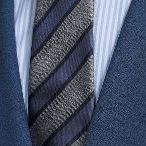 Blue Natural Stretch Suit - thumbnail image 2