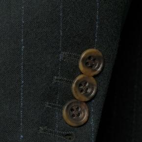 Blue Stripe Green Blazer - thumbnail image 1