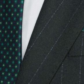 Blue Stripe Green Blazer - thumbnail image 2