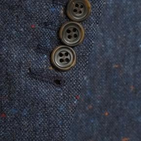 Blue Donegal Tweed Suit - thumbnail image 1