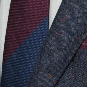 Blue Donegal Tweed Suit - thumbnail image 2