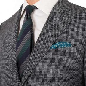 Dark Grey Houndstooth 3 Piece Suit - thumbnail image 2