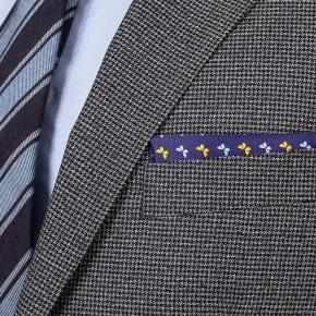 Grey Houndstooth Natural Stretch Suit - thumbnail image 2