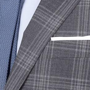 Charcoal Shadow Check Suit - thumbnail image 1