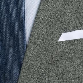 Grey Natural Stretch Suit - thumbnail image 1