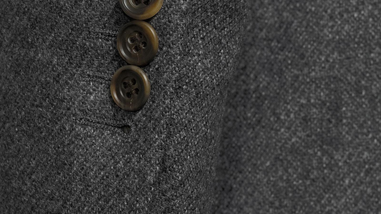 Grey Twill Wool & Cashmere suit - slider image 1