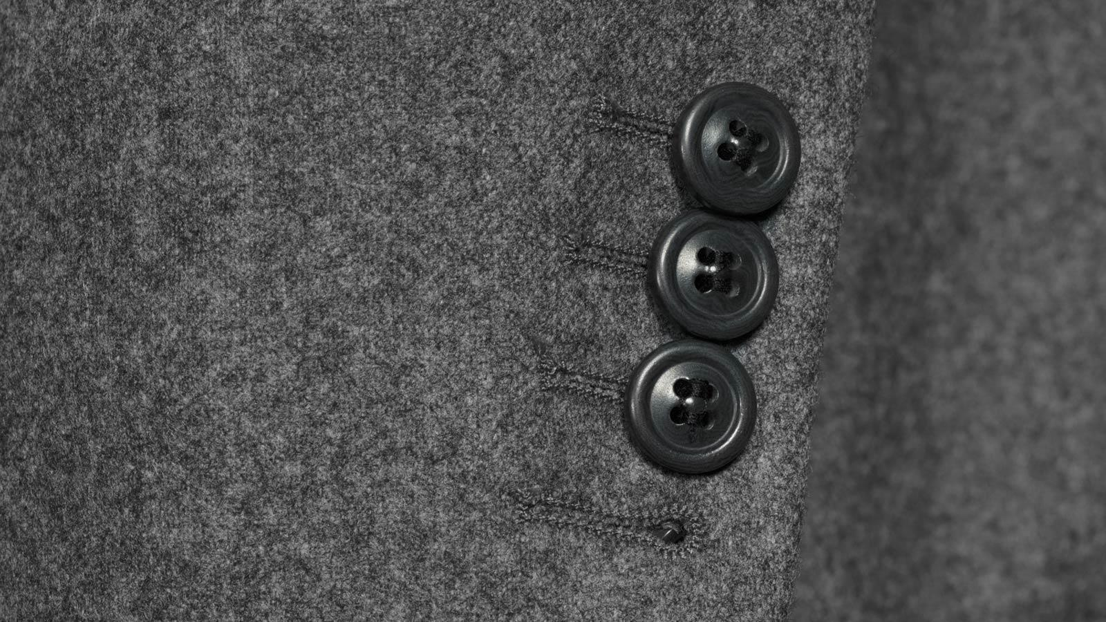 Grey Wool Flannel Suit - slider image 1