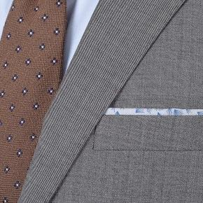 Suit in Grey Pick & Pick Wool - thumbnail image 2