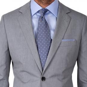 Suit in Grey Cotton - thumbnail image 1