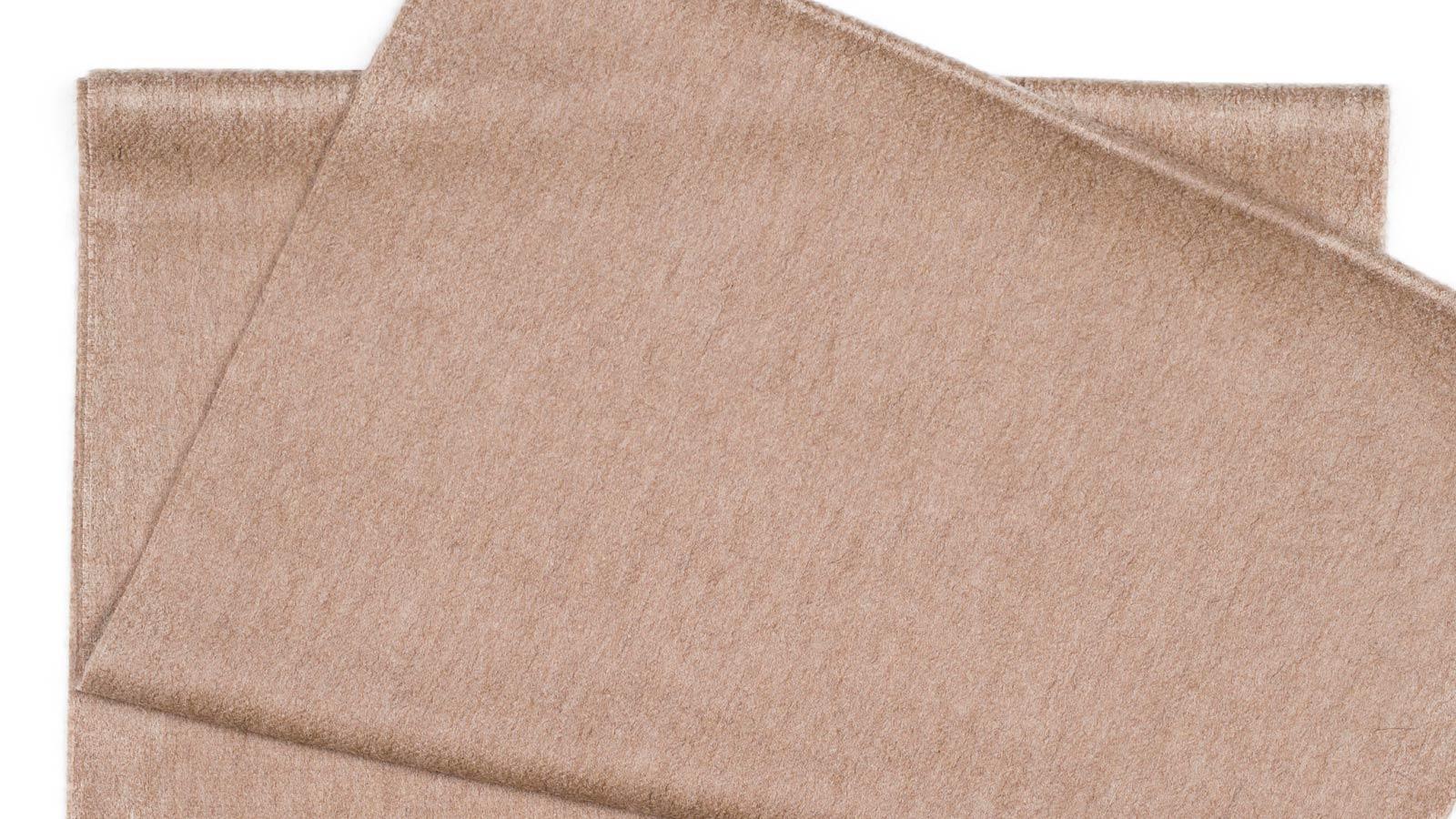 Light Brown Cashmere Scarf - slider image 1