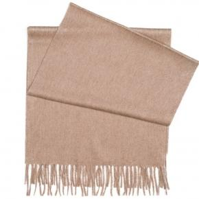 Light Brown Cashmere Scarf - thumbnail image 2