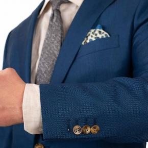 Teal Birdseye Suit - thumbnail image 1