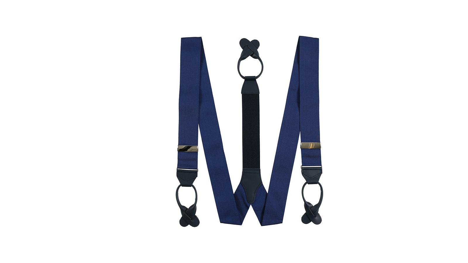 Royal Blue Suspenders - slider image