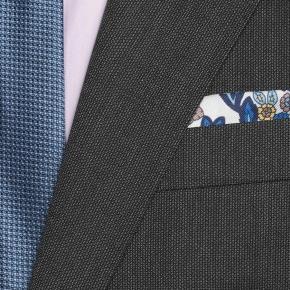 Charcoal Melange Suit - thumbnail image 1