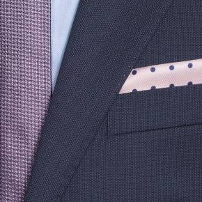 Navy Melange Suit - thumbnail image 1