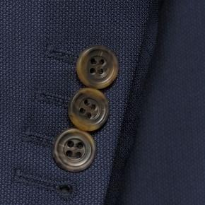 Navy Melange Suit - thumbnail image 2