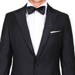 1663 Black Tuxedo with peak lapels - thumbnail image 2