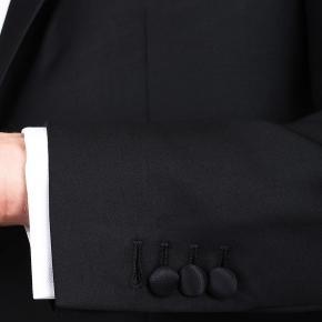 1663 Black Tuxedo with peak lapels - thumbnail image 3