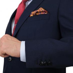 Blue Sharkskin Suit - thumbnail image 1