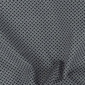 Dark Green Cotton Pocket Square - thumbnail image 1