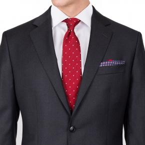 Suit in Solid Charcoal Wool - thumbnail image 1